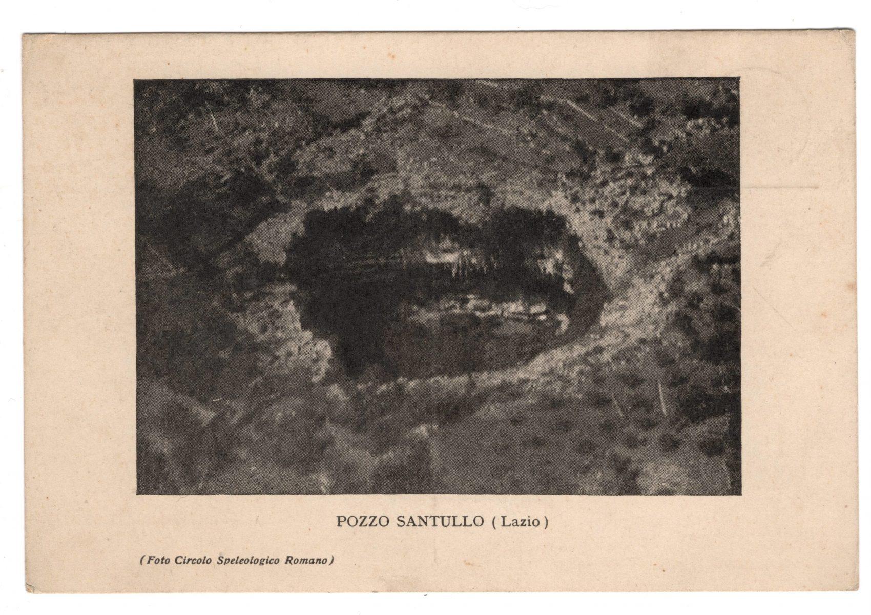 Cartolina Pozzo Santullo, recto (Archivio fotografico CSR)