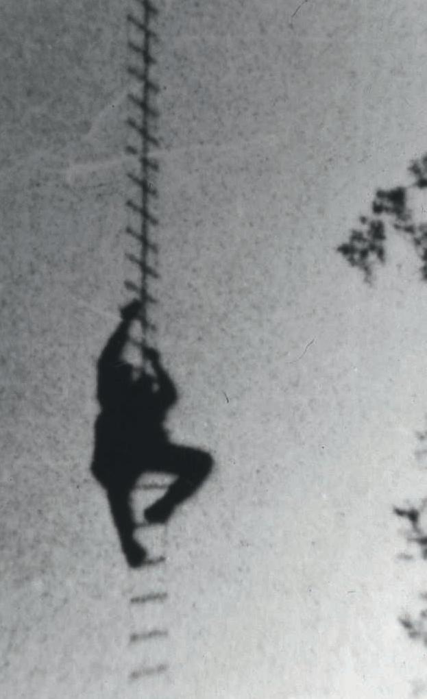La campata di scale di Pozzo Santullo, 21 maggio 1928 (Archivio CSR)