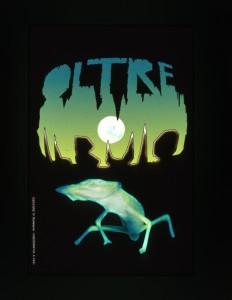 Logo della mostra Oltre il Buio realizzato da M. Monteleone e A. Felici