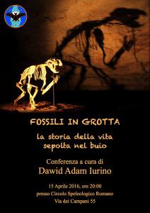 Fossili in grotta