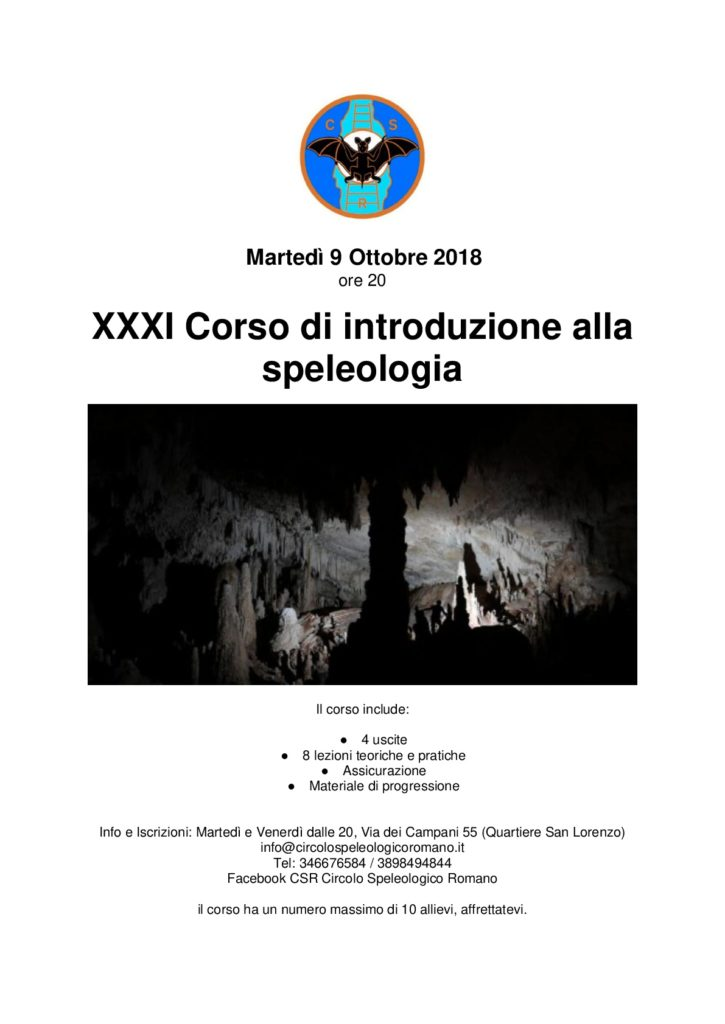 Corso speleo XXXI-001